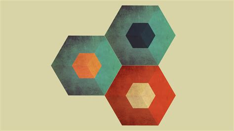 Abstract Minimalist Geometric Shapes by Abstract Cubes Minimalistic Shapes Simple Background