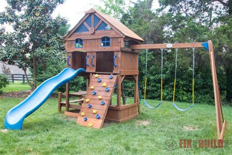 diy playset restoration refinishing fixthisbuildthat