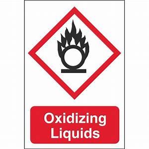 Oxidizing Liquids GHS Physical Hazard Dangerous Goods ...