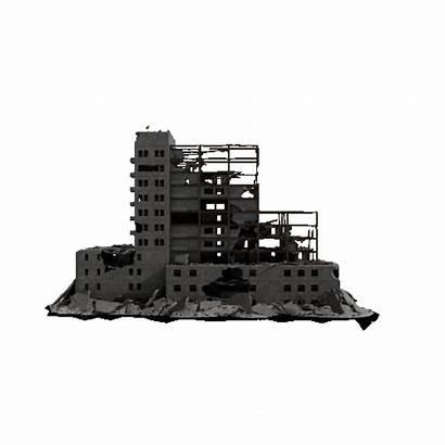 Kit Kitbash3d Apocalypse Ruined Aftermath Place Models