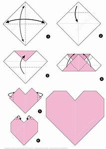 Origami Heart Instructions