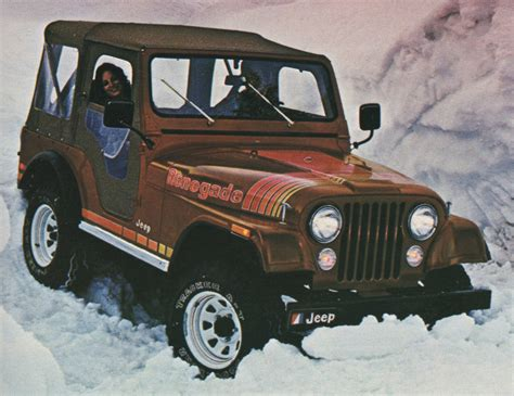 jeep amc 1970 jeep renegade images