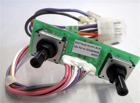 wgf ge refrigerator temperature control board amre supply