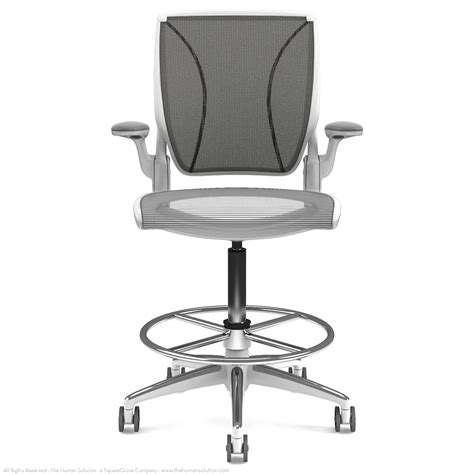 Humanscale Diffrient World Chair Used by Shop Humanscale Diffrient World Drafting Chairs