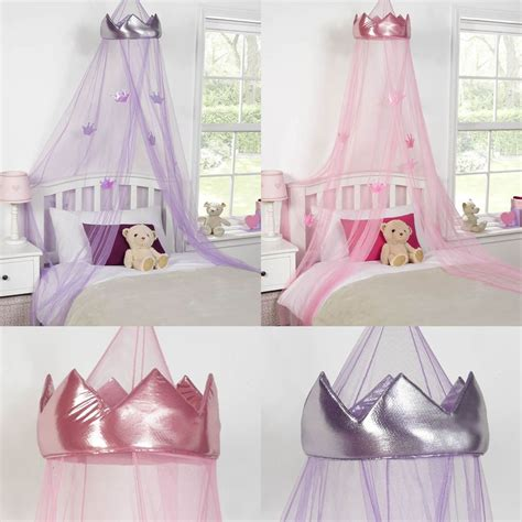 gold and pink bedding princess crown bed canopy childrens insect