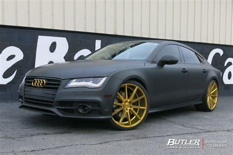 audi a7 modified audi a7 custom wheels vossen vfs1 22x et tire size