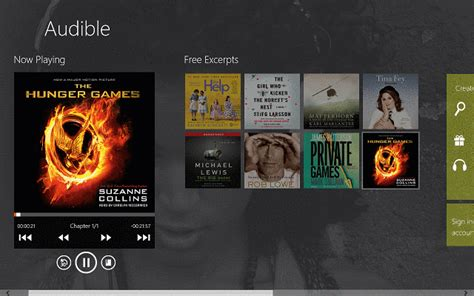 Audible For Windows 8, Windows 10
