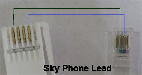 sky telephone line wiring connections tv answers