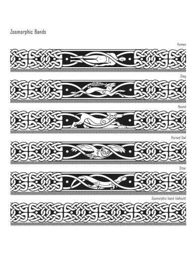 Iron Druid symbols | Druid tattoo, Celtic band tattoo, Arm band tattoo
