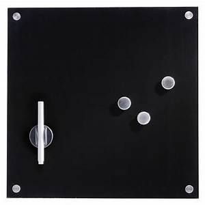 Bauhaus Gutschein Online : glasmemoboard schwarz 40 x 40 cm 3 magnete stift l scher stiftehalter bauhaus ~ Whattoseeinmadrid.com Haus und Dekorationen