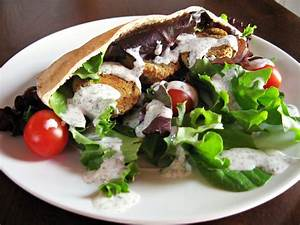 Baked Falafel Sandwiches with Creamy Dairy-Free Yogurt ...