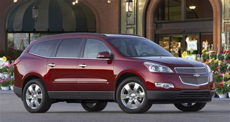 Chevy Traverse Accessories Page