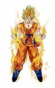 Goku SSJ and SSB New Pictures   VS Battles Wiki   FANDOM ...