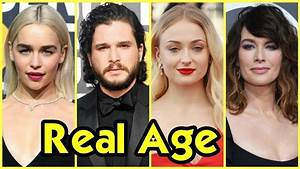 Game of Thrones Cast Real Age 2018 - YouTube