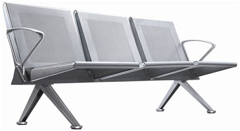 leisure modern waiting chair stainless steel airport chair