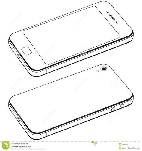 modern smartphone vector vector free modern smart phone isolation vector stock vector image