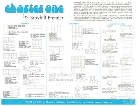 Brasilia Broyhill Premier Dresser by Broyhill Premier Chapter One Furniture Catalog 24 Pages