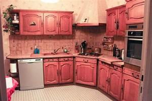 Moderniser une vieille cuisine sans repeindre les meubles for Marvelous meuble de cuisine en bois rouge 6 com moderniser cuisine rustique
