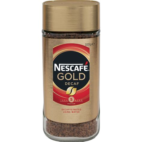 Great savings free delivery / collection on many items. Nescafe Gold Decaffeinated Instant Coffee 100g   Woolworths