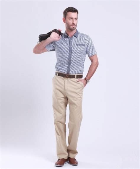 Men business casual pants classics stylemen pantsproduct more clothing
