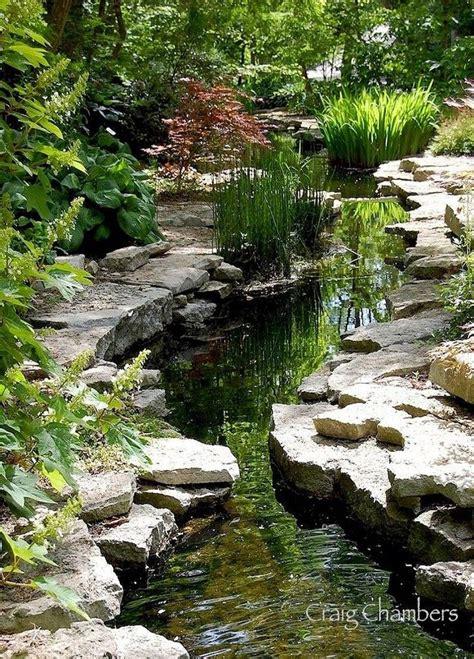 best 25 garden ideas on rock waterfall