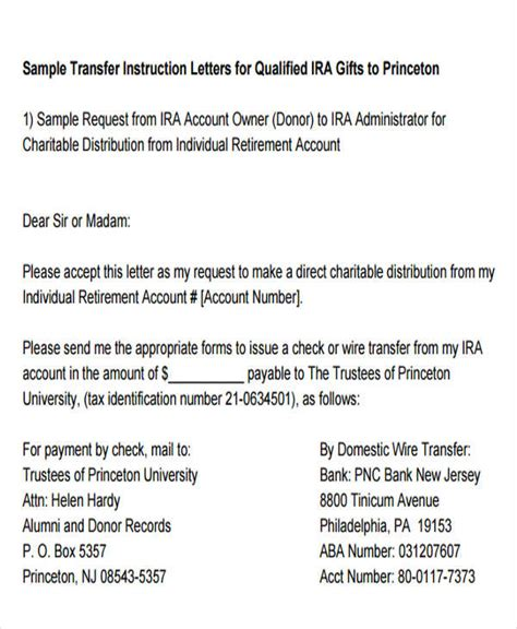 fund transfer letter templates   apple pages