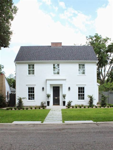 419 Best Images About Colonial Homessalt Box Houses On