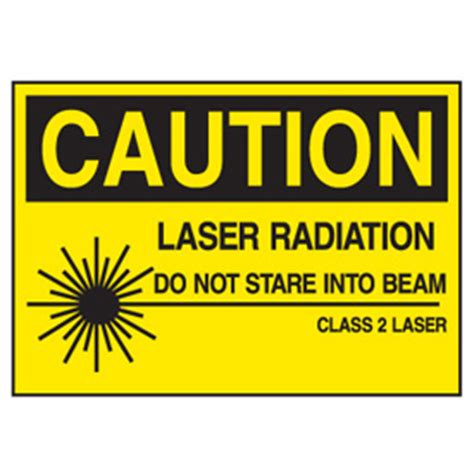 laser light warning label laser radiation equipment warning labels seton canada