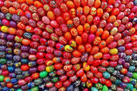 Easter Egg Colors Around The World