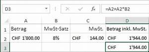 Mwst Berechnen Excel : prozentrechnen mit excel 2013 ~ Themetempest.com Abrechnung