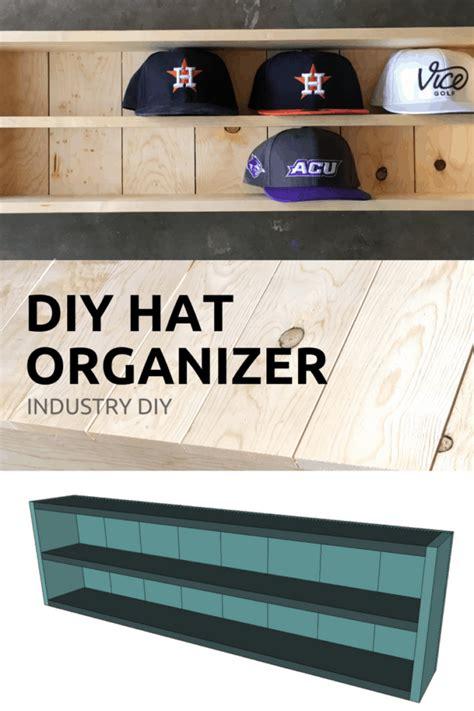 baseball hat organizer beginner diy project industry diy