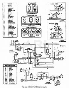 Troy Bilt 13065 14hp Hydro Suburban Tractor  S  N 130650100101  Parts Diagram For Wiring Diagram