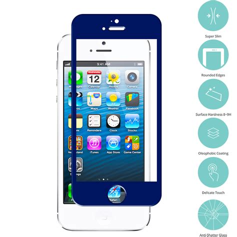 iphone 5c glass screen protector for apple iphone 5 5s 5c tempered glass screen protector