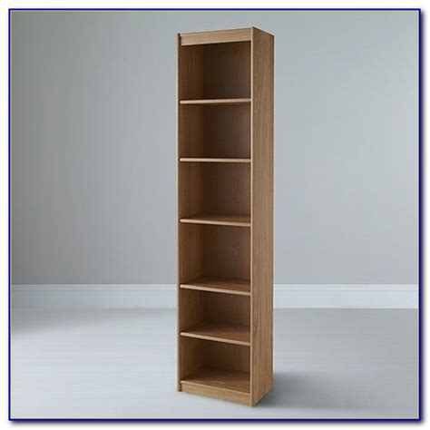 Tall Narrow Bookcases With Doors  Bookcase  Home Design