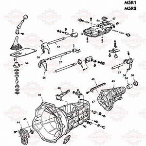 Parts Illustration M5r1 And M5r2 5 Speed Manual
