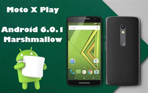 moto x play recibe android 6 0 1 marshmallow en m 233 xico poderpda