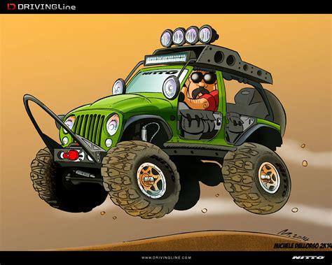 cartoon jeep wrangler cartoon the ultimate jk drivingline