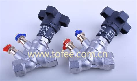 Stainless Steel Double Regulating Valve Buy Stainless