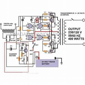 How To Build A 400 Watt High Power Inverter Circuit With