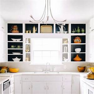 22, Ideas, For, Styling, Open, Kitchen, Shelves