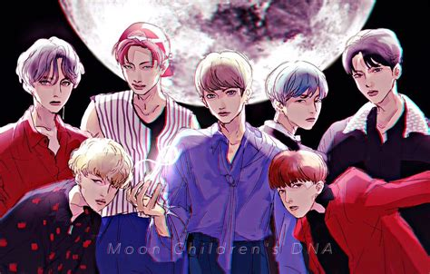 bts anime wallpapers top  bts anime backgrounds