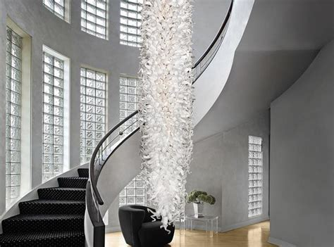 Chandelier In Hallway by Stairwell Chandeliers Staircase Chandeliers Lobby And