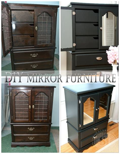 91 best images about diy mirrored furniture on
