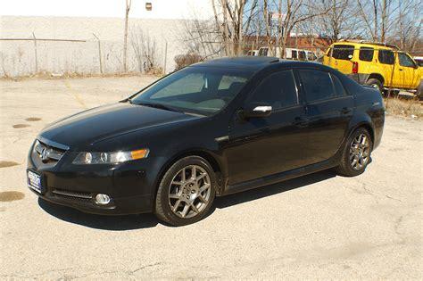 2007 acura tl type s black sedan sale