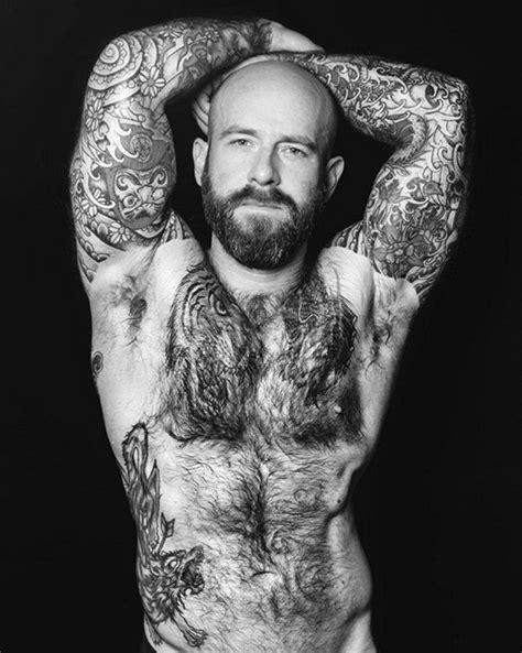 Bald and Gorgeous by Mario | Bald with beard, Dixon, Big