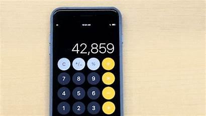 Calculator Phone Things Ios Calc Divide Five