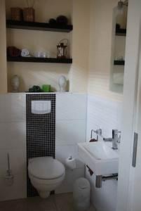Wandgestaltung Gäste Wc : bad 39 g ste wc 39 badezimmer pinterest ~ Markanthonyermac.com Haus und Dekorationen