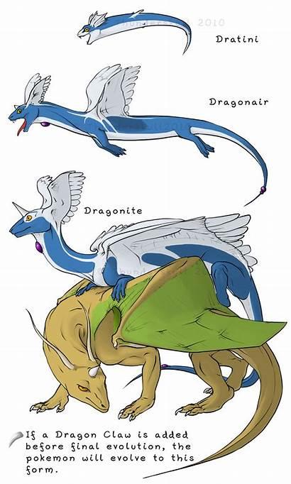 Evolution Pokemon Dratini Chart Evolve Shroomish Deviantart