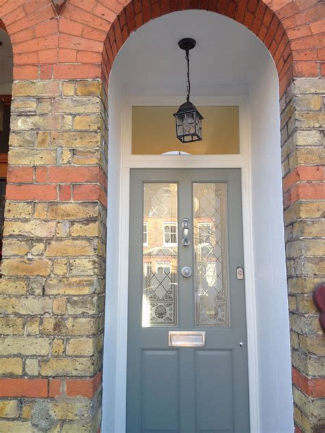 farrow and ball pigeon front door victorian house by