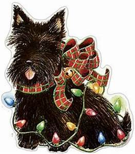 free scottish terrier clip art Google Search